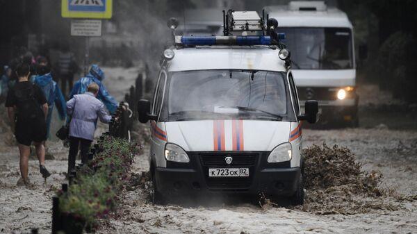 Глава Ялты рассказала о наиболее пострадавшей от подтоплений части города