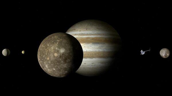 Российские ученые планируют полеты к Юпитеру и Сатурну на ядерной тяге