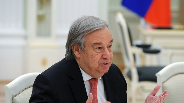 Генсек ООН заявил о поддержке нормандского формата по ситуации на Украине