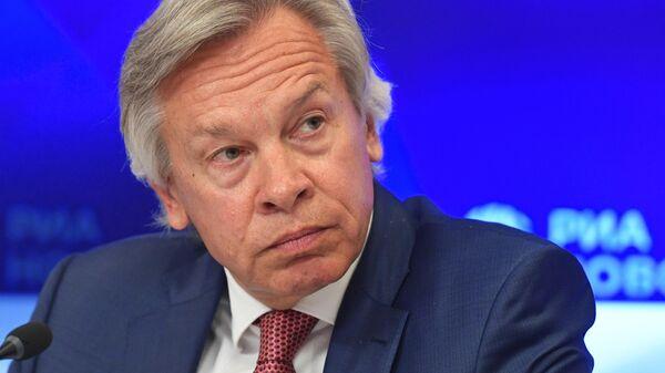 Пушков отреагировал на заявление Байдена о Крыме