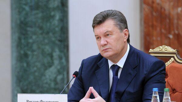 СНБО Украины ввел 'максимальные санкции' против Януковича