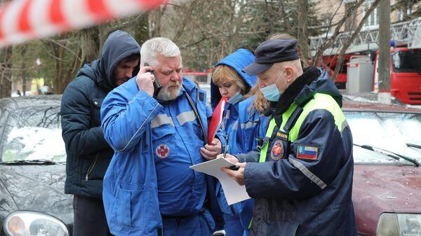 Спасатели объяснили, как удалось выжить мальчику при взрыве в Химках