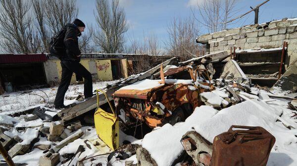 В ДНР заявили о прибытии в Донбасс украинских праворадикалов