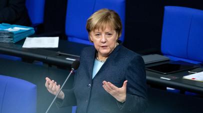 Меркель рассказала, когда сделает прививку от COVID-19