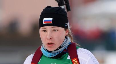 Тихонов поддержал биатлонистку Ушкину в её намерении сменить спортивное гражданство