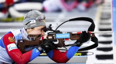 Сборная Югры выиграла женскую эстафету на чемпионате России по биатлону