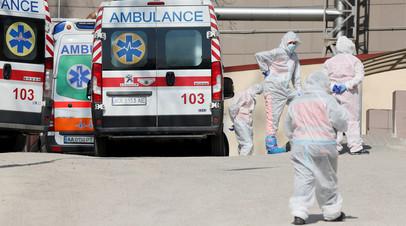 На Украине зафиксировано более 10 тысяч новых случаев коронавируса