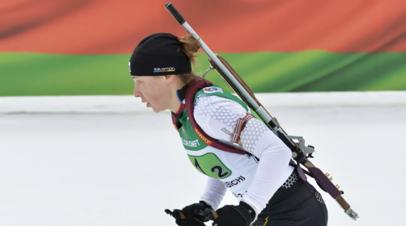 Ушкина подтвердила решение выступать за сборную Румынии по биатлону
