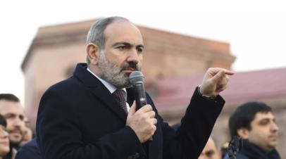 Пашинян назвал миротворцев России важным фактором безопасности в Карабахе