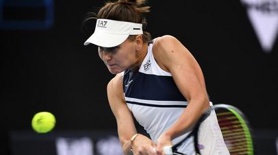 Кудерметова обыграла Наварро во втором круге турнира WTA в Чарльстоне