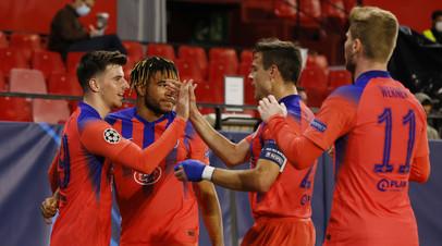 Маунт и Чилвелл стали первыми с 2012 года англичанами, забившими за «Челси» в одном матче ЛЧ