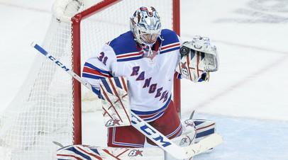 Шестёркин стал 13-м российским вратарём в истории, который провёл матч на ноль в НХЛ
