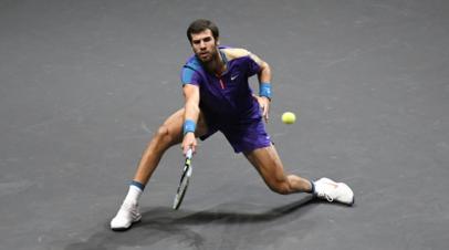 Хачанов проиграл Карреньо-Бусте во втором круге турнира ATP в Монте-Карло