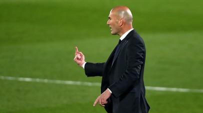 Зидан считает, что «Реал» может гордиться своим выступлением в ЛЧ