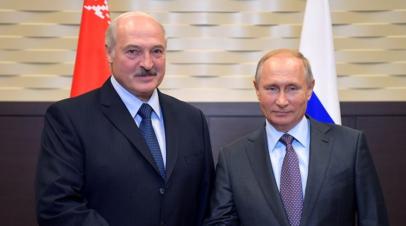 Лукашенко заявил о планах встретиться с Путиным в Москве