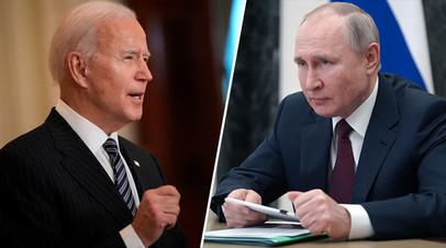 В Кремле оценили возможность встречи Путина и Байдена