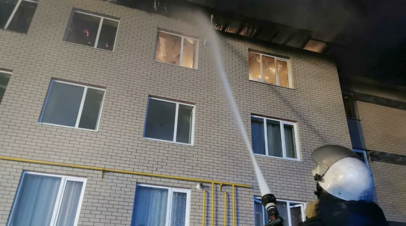 Жительница рассказала о спасении детей после взрыва газа в доме в Нижегородской области