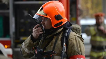 На складе в Екатеринбурге ликвидировали открытое горение
