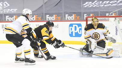 «Питтсбург» без Малкина уступил «Бостону» в матче НХЛ