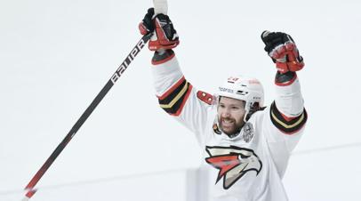 Хоккеист «Авангарда» Толчинский признан самым ценным игроком плей-офф КХЛ