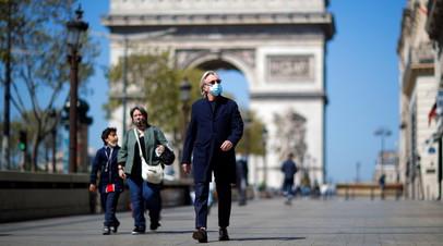 Во Франции за сутки выявили более 31 тысячи случаев коронавируса