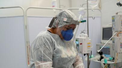 В Бразилии за сутки зафиксировали почти 80 тысяч случаев коронавируса