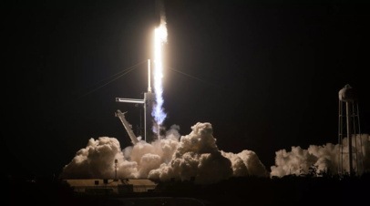 Пилотируемый космический корабль Crew Dragon 2 стартовал к МКС
