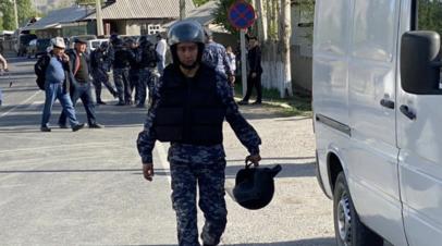 В Киргизии заявили о продолжении стрельбы на границе с Таджикистаном