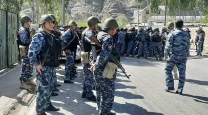 «Перестрелка прекращена»: что известно о конфликте на границе Киргизии и Таджикистана