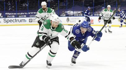 «Тампа» победила «Даллас» в НХЛ, Василевский отыграл на ноль и сделал 20 сейвов