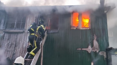 СК возбудил дело по факту пожара в автосервисе в Мытищах