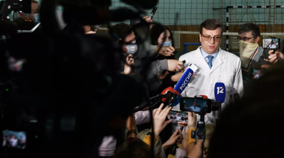 В Минздраве Омской области рассказали о состоянии Мураховского