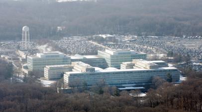 В штаб-квартире ЦРУ пресекли въезд неизвестного на территорию службы