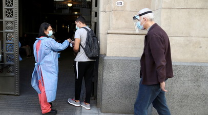 Число случаев коронавируса в Аргентине достигло 3 071 496