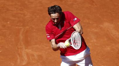 Тарпищев считает, что поражение Медведева на турнире в Мадриде связано с перенесённым коронавирусом