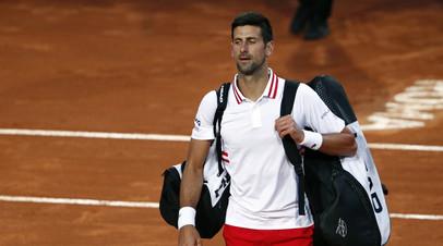 Джокович победил Фритца во втором круге турнира ATP в Риме