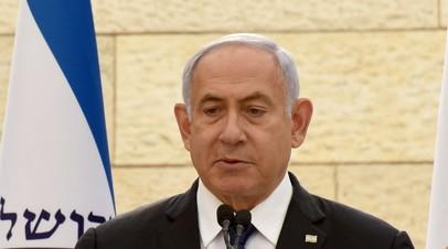 Нетаньяху прокомментировал обстрелы со стороны сектора Газа