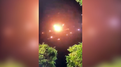 В Тель-Авиве сработали сирены воздушной тревоги во время вечернего обстрела — видео