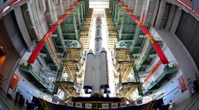 В КНР отменён запуск космического грузовика «Тяньчжоу-2»