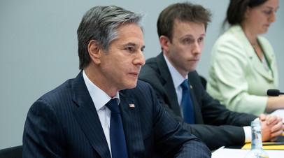 Блинкен заявил, что США продолжат выступать против строительства «Северного потока — 2»