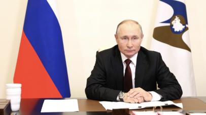 «Единственная страна, которая передаёт технологии по вакцинам»: Путин о шагах России в борьбе с COVID-19