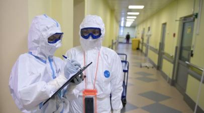 В России выявили 8709 новых случаев коронавируса за сутки