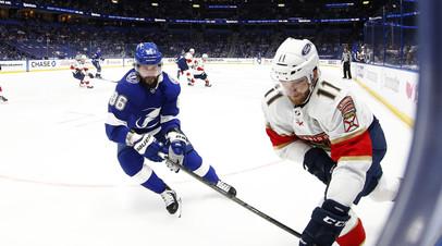 Кучеров сравнялся с Могильным по голам в плей-офф НХЛ среди россиян