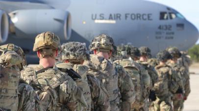 В ВС США рассказали о ходе вывода войск из Афганистана