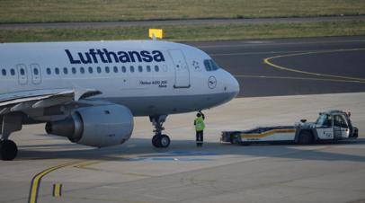 Аэропорт Минска: рейс Lufthansa во Франкфурт задержан из-за угрозы теракта