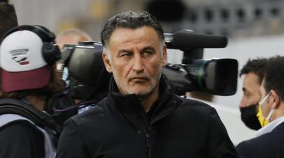 Главный тренер «Лилля» объявил об уходе в отставку после победы в чемпионате Франции