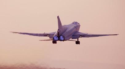 Российские бомбардировщики Ту-23М3 выполнили первые полёты в Сирии