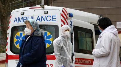 Число случаев COVID-19 на Украине выросло почти на 3,4 тысячи