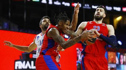 Баскетболист ЦСКА Клайберн: у меня была хорошая возможность выиграть матч