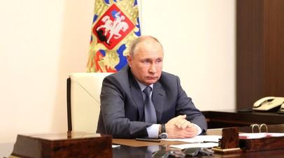 Путин назвал всплеском эмоций события после посадки самолёта Ryanair